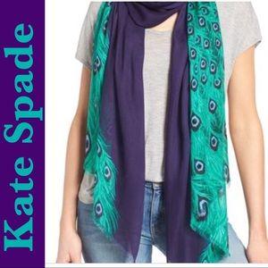 Kate Spade Peacock scarf